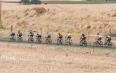 Riders strung out during stage two of the Tour of Good Hope. Photo: Henk Neuhoff Photography