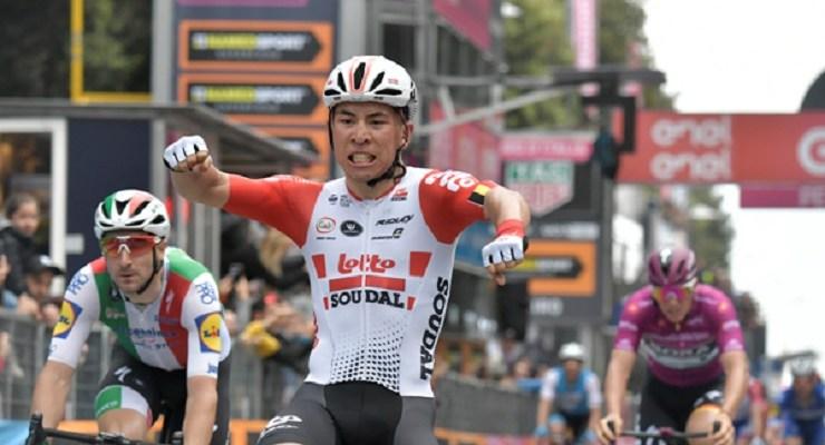Caleb Ewan wins stage eight of the 2019 Giro d'Italia