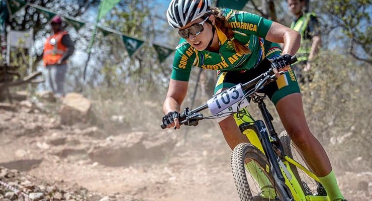 Candice Lill won the fourth race in this year's SA XCO MTB Cup Series