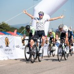 Connor Brown won stage two of the Tour de Limpopo