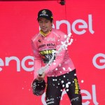 Primoz Roglic took the 2019 Giro d'Italia lead