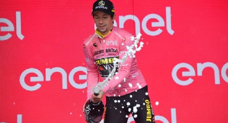Primoz Roglic took the 2019 Giro d'Italia lead