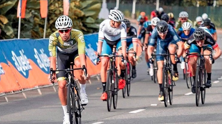 Ryan Harris is confident of securing a top result in today's 100 Cycle Challenge