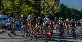 Elite men cyclists tackle the 2018 Takealot Jock Classic