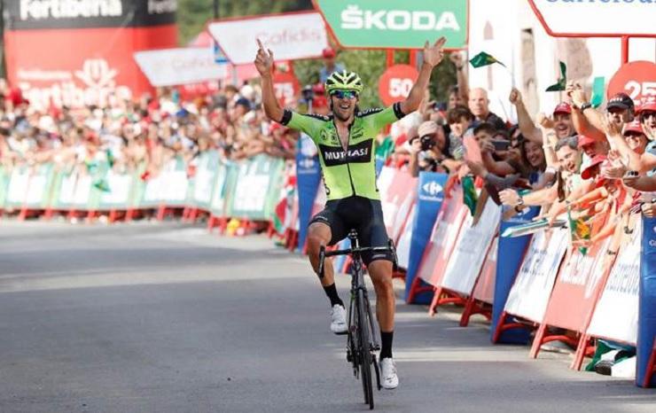 Mikel Iturria won stage 11 of the Vuelta a España