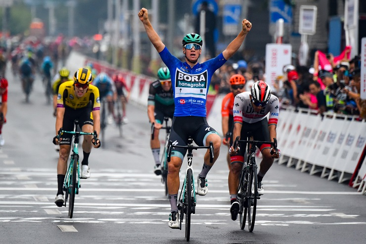 Pascal Ackermann won the final stage, while Enric Mas sealed the overall win at the Tour of Guangxi