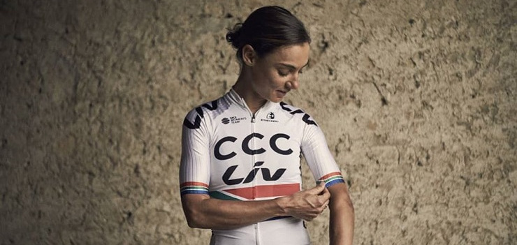Ashleigh Moolman Pasio is the current South African national road and time-trial champion.
