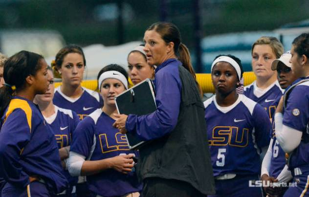 Beth Torina In her 6th season at LSU(Photo Courtesy of LSUSports.net)