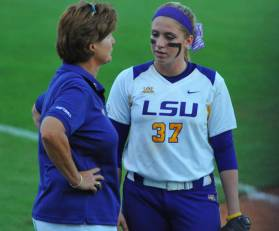 Fico played for Yvette Girouard at LSU from 2010-2011. Photo Courtesy of LSU