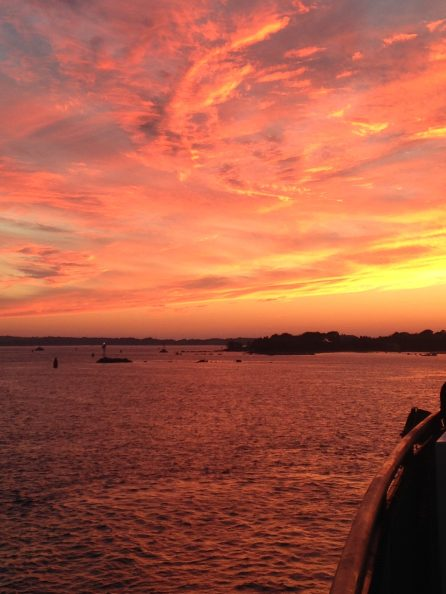 Sunset, Woods Hole Cape Cod