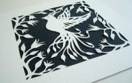 Bird of Paradise (white).