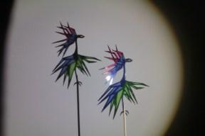 Jabberwocky shadow puppet