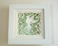 Bird of Paradise in box frame