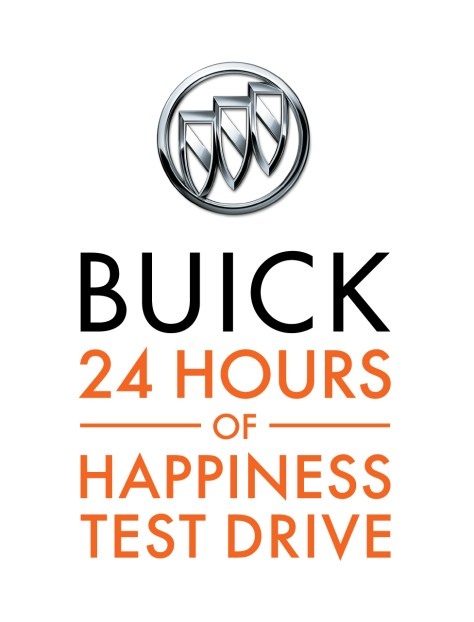 On July 22, 2015 participating Buick dealers today introduced the 24 Hours of Happiness Test Drive, a daylong test drive experience complemented by sounds, smells and even yoga techniques to help encourage well-being and happiness on the road.