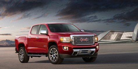 2017 GMC Canyon Denali​. © General Motors.