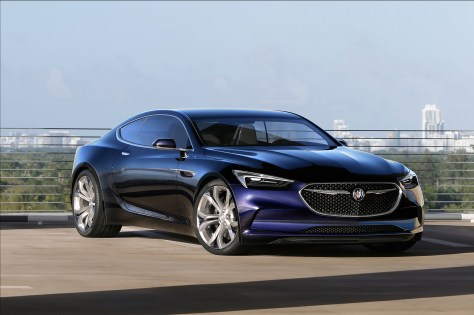 2016 Buick Avista Concept © General Motors.