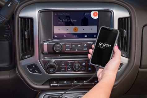 GMC Expands Android Auto Availability. © General Motors.