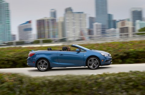 2016 Buick Cascada Convertible © General Motors.