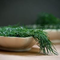 How to Chop Dill