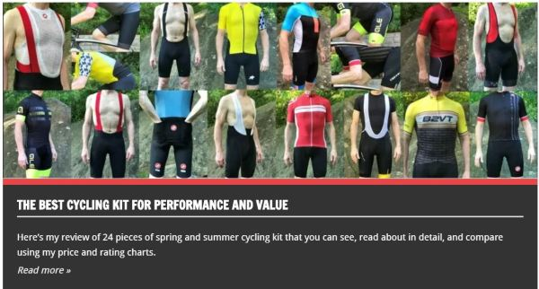 The Best Cycling Kit
