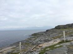 Coastline in the County Clare near the Burren
