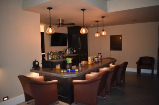 Bar Lighting   Pendants and LED Ribbon