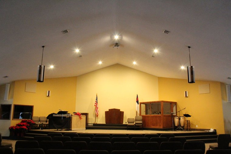 Commercial Lighting | Can Lights | Church