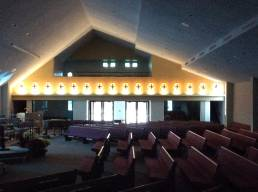 Commercial Lighting | Church Accent Lights