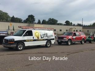 In The Lite   Merrill Labor Day Parade