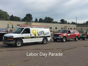 In The Lite | Merrill Labor Day Parade