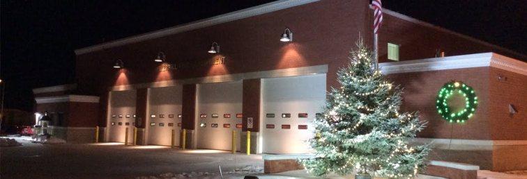 Commercial Lighting | Merrill Fire Station
