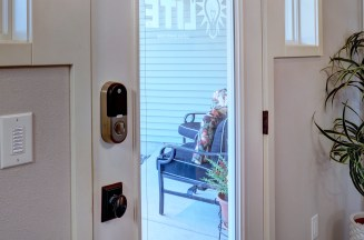 ITL Office Front Door with Keypad & Yale Lock