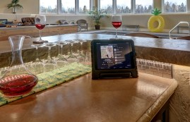 Langhoff Bar Wine Glasses with Sonos 2