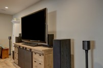 Langhoff Basement Lounge with Sonos