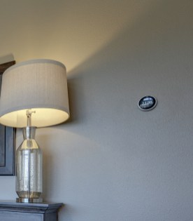 Langhoff Master Bedroom with Nest Thermostat