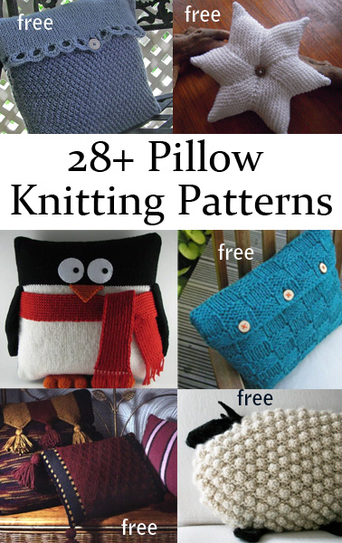 free cat cushion cover to knit # 14
