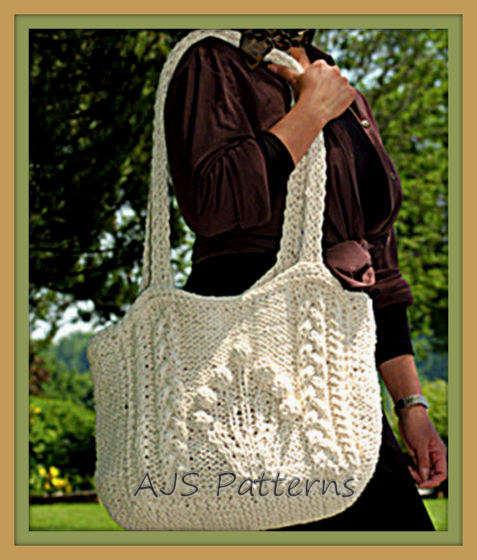 Bag, Purse and Tote Free Knitting Patterns | In the Loop ...