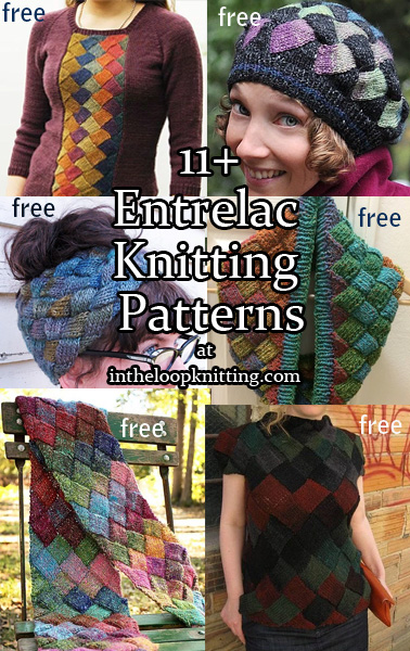 Entrelac Knitting Patterns In The Loop Knitting