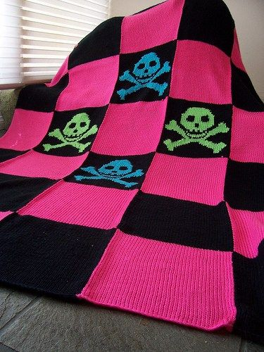Pirate Punk And Other Skull Motif Knitting Patterns In