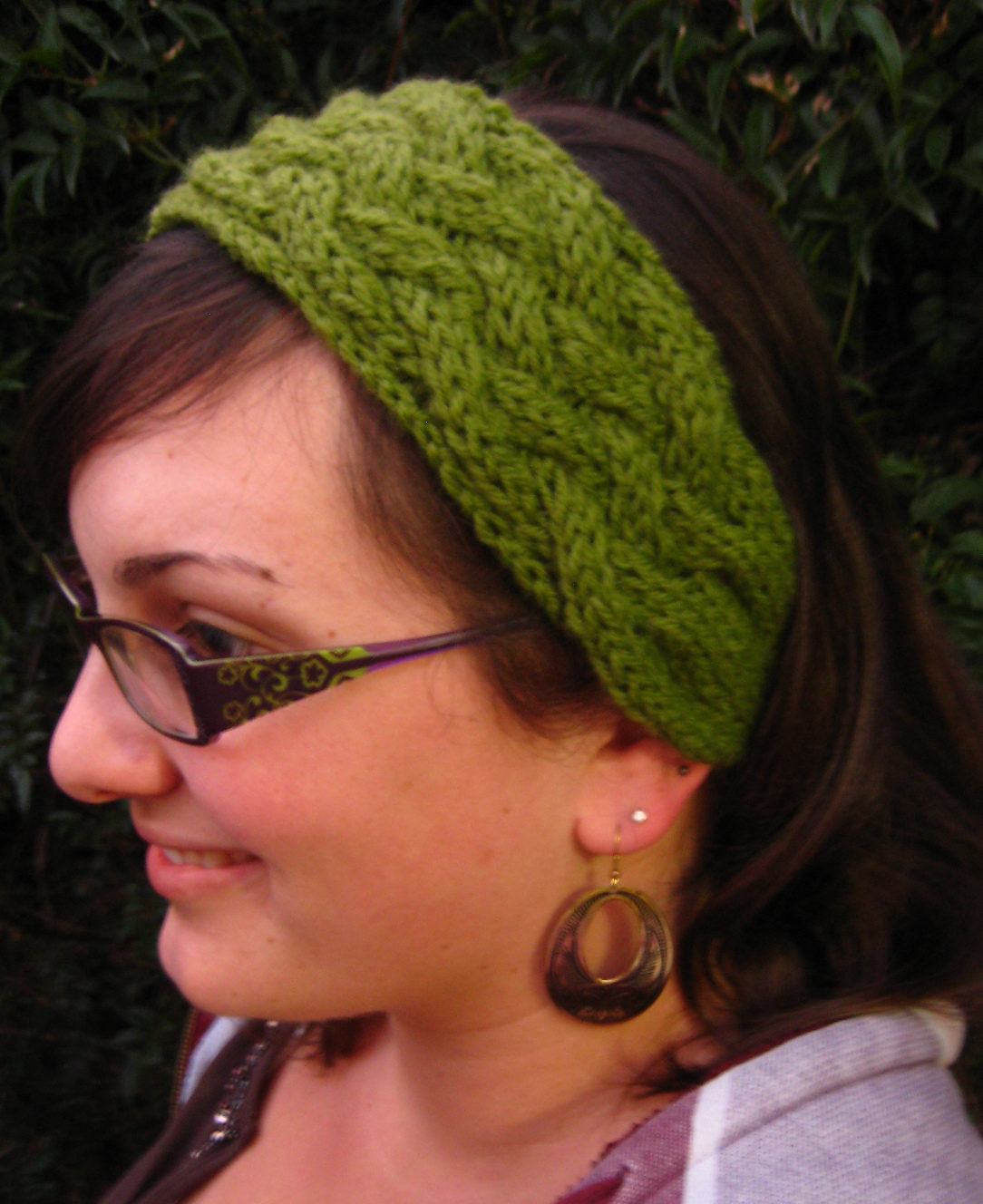 Knitted Neck Warmer And Headband Pattern