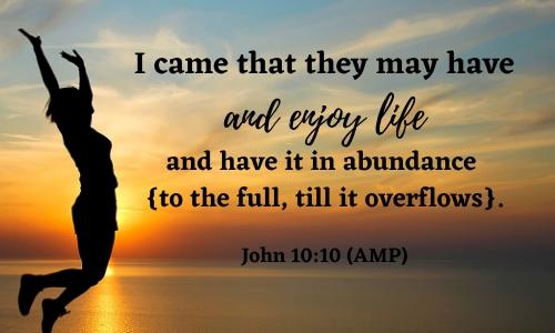 quote of John 10:10