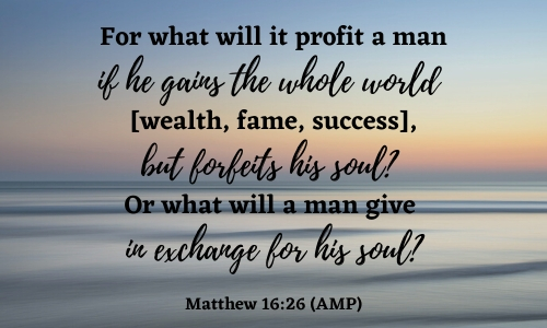 quote of Matthew 16:26