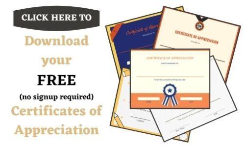 appreciation certificates for fathers
