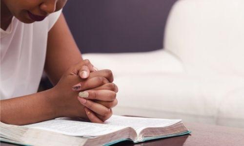 mother praying