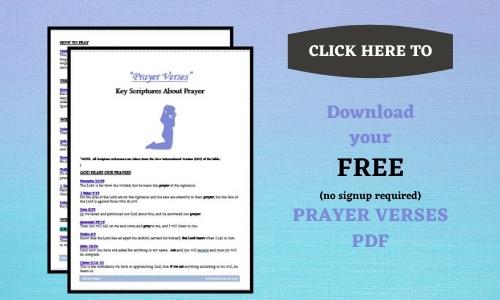 prayer verses download