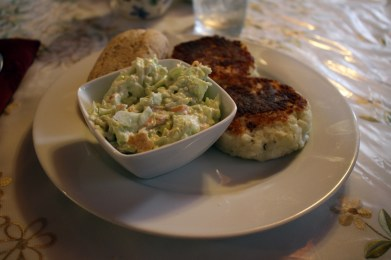 Bonavista – Fischkuchen (Kabeljau/Kartoffel Buletten)
