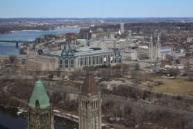 Parliament Hill – Aussicht vom Friedensturm