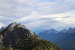Sulphur Mountain Aussicht