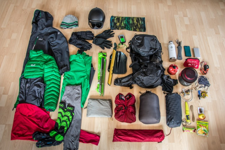 Packliste Ski Tour