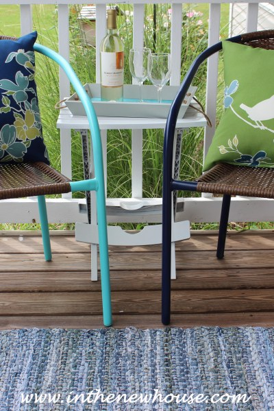 $40 Front Porch Makeover